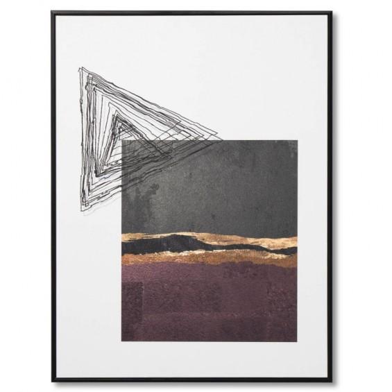 Cuadro SELLO 2 negro 60x80
