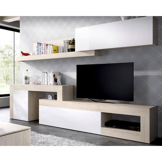 Conjunto muebles de TV Alegría