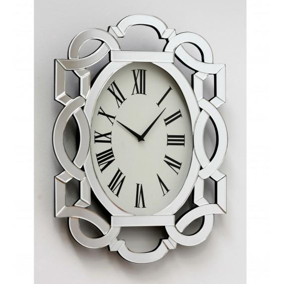 Reloj con marco de espejo Cassidy
