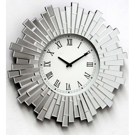 Reloj con marco de espejo Eloine