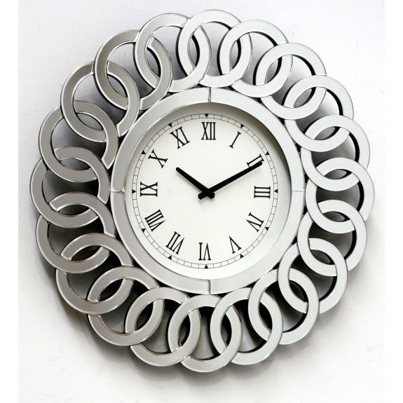 Reloj con marco de espejo Lizza