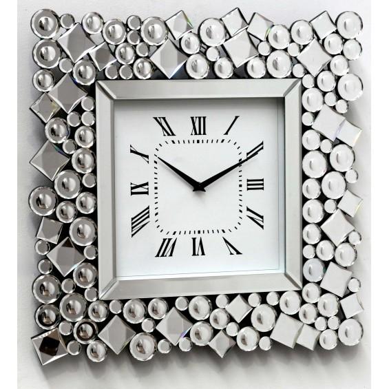 Reloj con marco de espejo Hermes